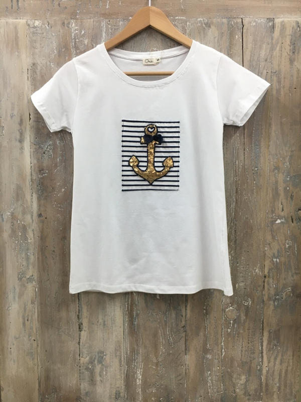 Camiseta Ancla Sailor | Camisetas